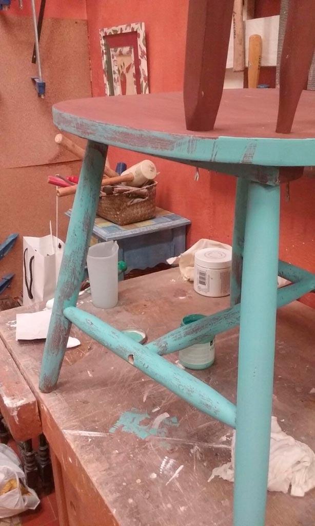 Reciclaje de silla moderna taller estuco for Sillas modernas 2016